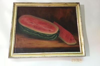 Painting of Watermelons