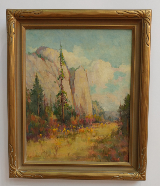 Oil Painting of El Capitan in Yosemite National Park